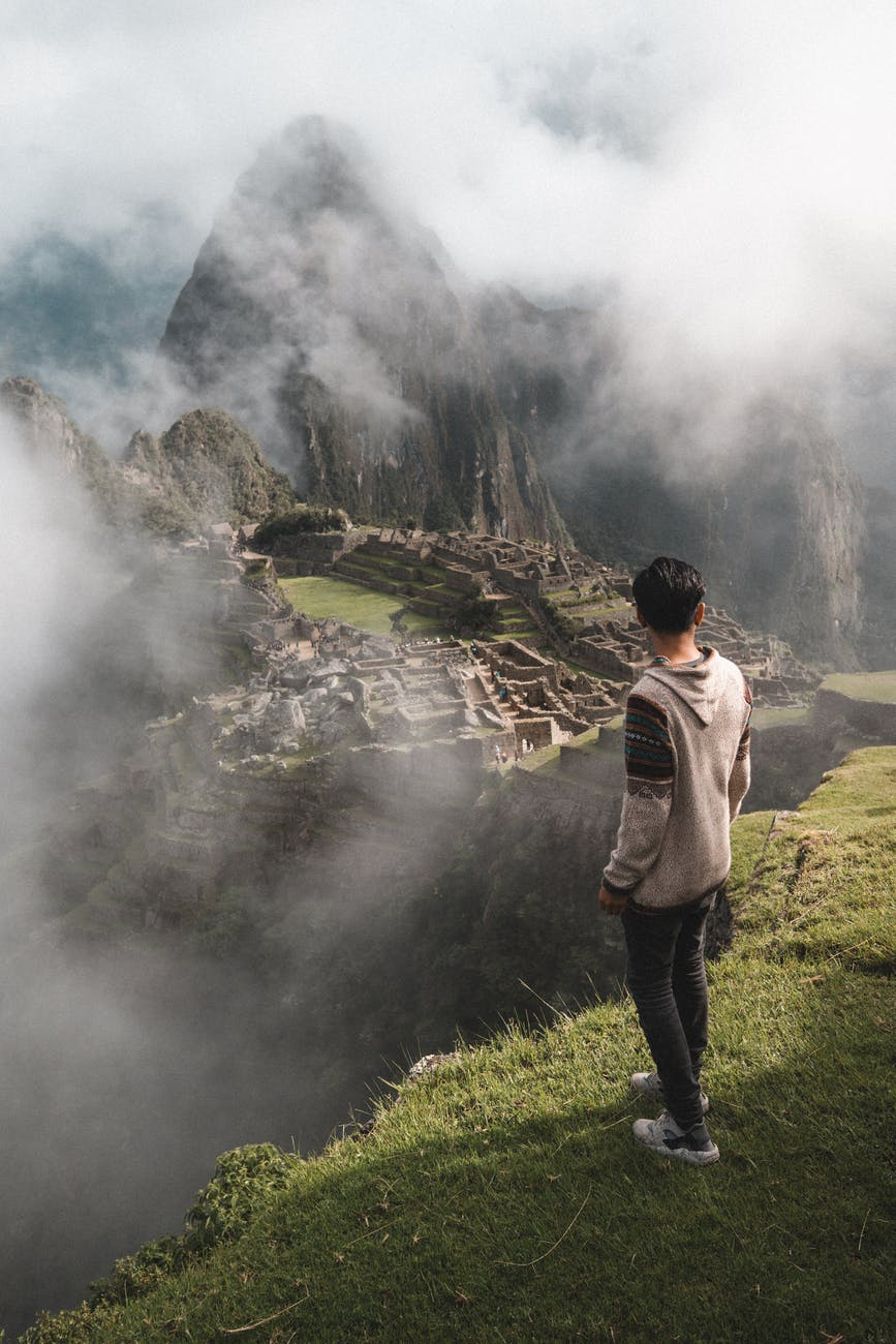 A homeschool teenager who is using his bilingual skills to travel throughout South America.